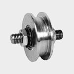 Pojezdová kladka dolní s dvojitým ložiskem, ⌀ kladky 45 mm